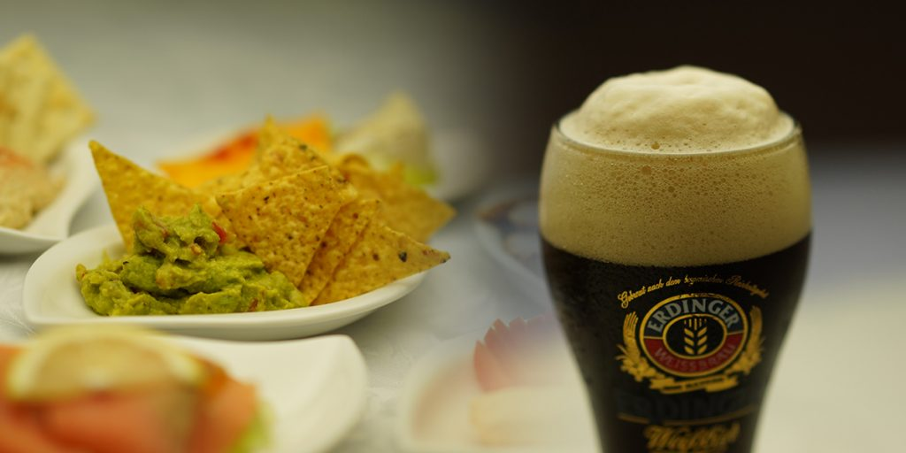 下呂温泉のレストラン ハッピーアワー 15時から17時まで限定メニュー 生ビールとタパス又はソーセージがセットで税込1,000円
