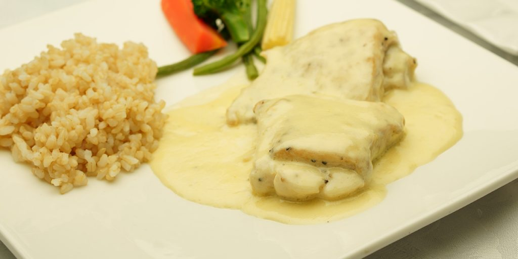 下呂温泉のレストラン お魚料理 エルウィン特製ソース