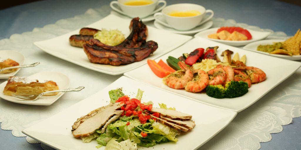 下呂温泉のレストラン ファミリーコース