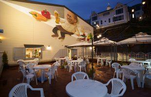 下呂温泉レストランSAKURAの壁画